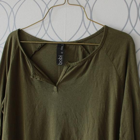 bobi Tops - Bobi LA Long Sleeve Shirt